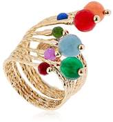 Rosantica Aghi Ring With Quartz Beads