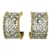 Buccellati Boucles d'oreilles white gold earrings
