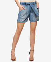 Sanctuary Karate Cotton Simona Wash Denim Shorts