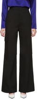 J.W.Anderson Black Wide-Leg Trousers