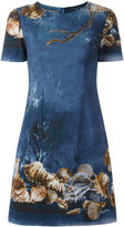 Alberta Ferretti seashells print dress - women - Cotton/Acetate/Rayon/other fibers - 42
