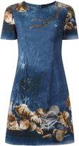 Alberta Ferretti seashells print dress