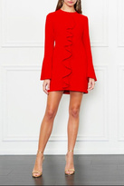 Rachel Zoe Ruffle Mini Dress