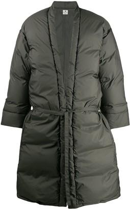 SASQUATCHfabrix. Waist-Tied Padded Coat