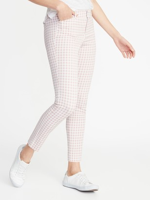 Old Navy Mid-Rise Printed Pixie Ankle Pants for Women