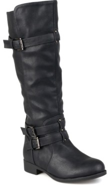 Journee Collection Women's Wide Calf Bite Boot Women's Shoes