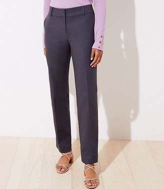 LOFT Straight Leg Pants in Doubleweave in Curvy Fit