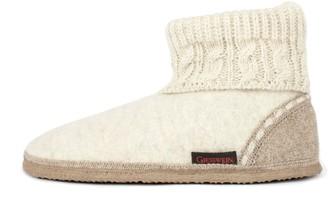 Giesswein Unisex Adults' Freiburg Hi-Top Slippers White (Lamm-Mel 4 UK