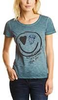 Cecil Women's Oild Dye Sequins T-Shirt