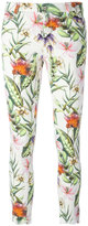 Ermanno Scervino floral skinny trousers - women - Cotton/Polyester/Spandex/Elastane - 44