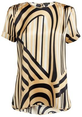 Kiton Silk Swirl Shirt