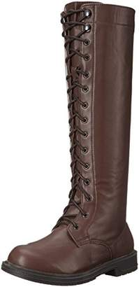 Ellie Shoes Knee High Lace Up () Adult Boots size 7