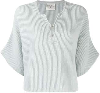Forte Forte short sleeve knitted top