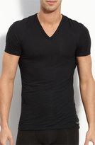 Calvin Klein Men's 'U5563' V-Neck Micromodal T-Shirt