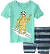 Joe Fresh Toddler Boys' Essential Sleep Set, Aqua (Size 2)