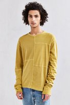 Urban Outfitters Anson Thermal Blocked Long Sleeve Tee