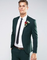 Selected Suit Jacket in Superskinny Fit with Stretch
