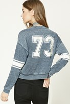 Forever 21 FOREVER 21+ Fleece 73 Graphic Sweatshirt