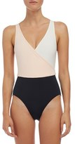 Solid & Striped Women's 'The Ballerina' Colorblock One-Piece Swimsuit
