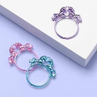 More than Magic Girls' 3pk Unicorn Ring Set - More Than MagicTM