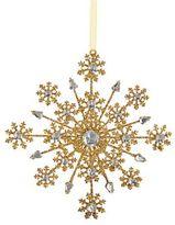 Kurt Adler Glittered Snowflake Ornament