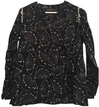 Antik Batik Navy Cotton Top for Women