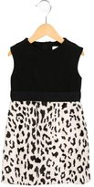 Milly Minis Girls' Sleeveless Leopard Print Dress