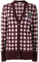 Christopher Kane gingham cardigan - women - Cashmere/Wool/Virgin Wool - XS