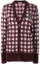 Christopher Kane gingham cardigan - women - Wool/Virgin Wool/Cashmere - XS