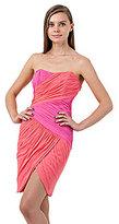 Jill Stuart Jill Strapless Ruche Dress