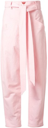 Manning Cartell Australia High-Waisted Belted Trousers