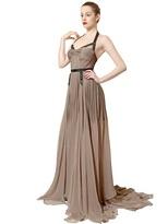 Maria Lucia Hohan Open Front Garter Belt Silk Mousseline