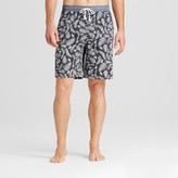 Merona Men's Knit Sleep Shorts Leaf Print