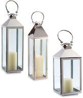 Cambridge Silversmiths Marine-Grade Classic 24-Inch Lantern Candle Holder in Nickel