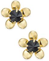 Kate Spade Sunset Blooms Gold-Tone Flower Stud Earrings