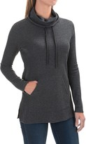 Lilla P Waffled Cowl Neck Tunic Sweater (For Women)