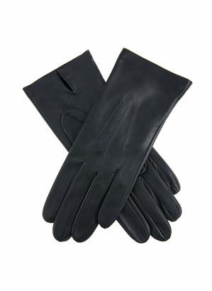 Dents Joanna Women's Classic Unlined Leather Gloves NAVY 7.5