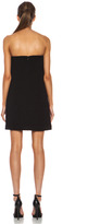 MSGM Embellished Viscose-Blend Dress in Black