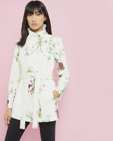 Ted Baker Spring Meadow wool and cashmereblend wrap coat