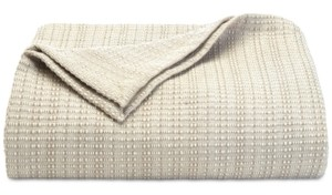 Tommy Bahama Home Tommy Bahama Bamboo Woven Cotton Twin Blanket