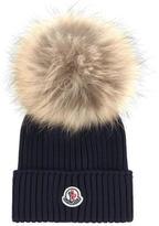 Moncler Hat with a fur bobble