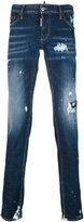 Dsquared2 - distressed skinny jeans - men - Cotton/Polyester/Spandex/Elastane - 52