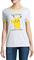 Freeze Short Sleeve Crew Neck Pokemon T-Shirt-Juniors