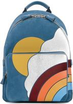 Anya Hindmarch Silver Cloud mini backpack - women - Leather/Calf Suede - One Size