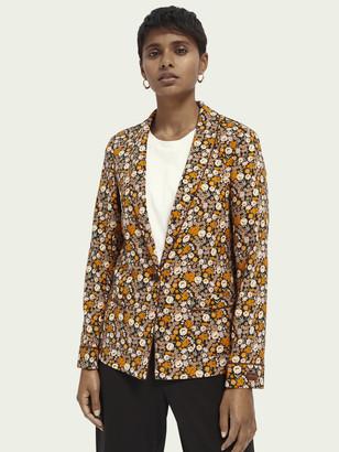 Scotch & Soda Printed pyjama blazer   Women