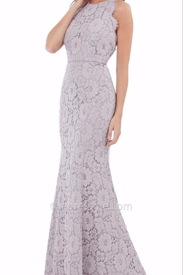 JS Collections Floral Lace T-Back Dress