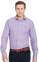 Big & Tall Polo Ralph Lauren Checked Poplin Sport Shirt