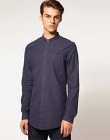 Asos Printed Chambray Shirt