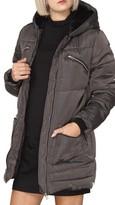 Dorothy Perkins Women's Faux Fur Trim Puffer Jacket