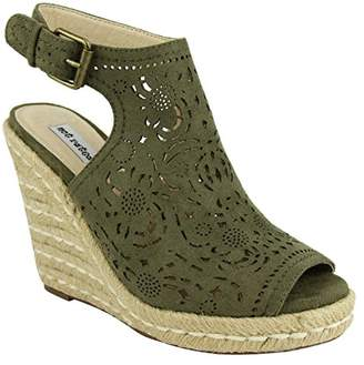 Not Rated Women's Jobyna Espadrille Wedge Sandal